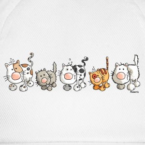 Chats drôles - Chat Tee shirts manches longues - Casquette classique