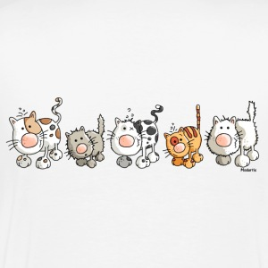 Chats drôles - Chat Tee shirts manches longues - T-shirt Premium Homme