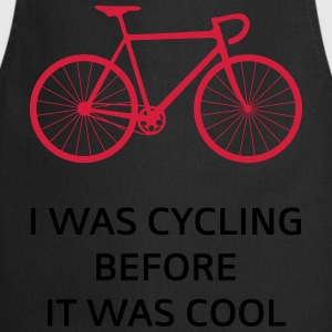 I Was Cycling Before It Was Cool T-Shirts - Cooking Apron