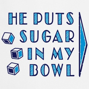 sugar in bowl - for women T-shirts - Forklæde
