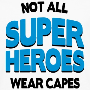 Not All Super Heroes Flessen & bekers - Mannen Premium shirt met lange mouwen