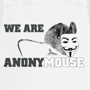 we are anonymouse - anonymous T-shirts - Förkläde