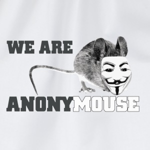 we are anonymouse - anonymous Kopper & flasker - Gymbag