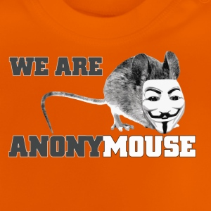 we are anonymouse - anonymous Magliette - Maglietta per neonato