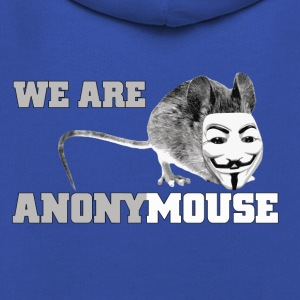 we are anonymouse - anonymous T-shirts - Kinderen trui Premium met capuchon
