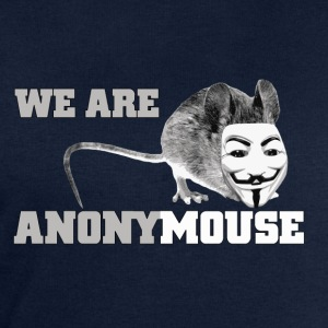we are anonymouse - anonymous Camisetas - Sudadera hombre de Stanley & Stella