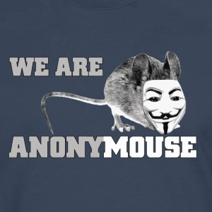 we are anonymouse - anonymous T-Shirts - Männer Premium Langarmshirt