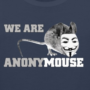 we are anonymouse - anonymous Skjorter - Premium singlet for menn