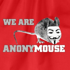 we are anonymouse - anonymous Skjorter - Gymbag