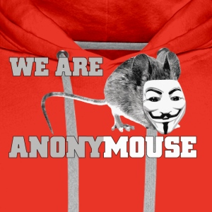 we are anonymouse - anonymous T-shirts - Herre Premium hættetrøje