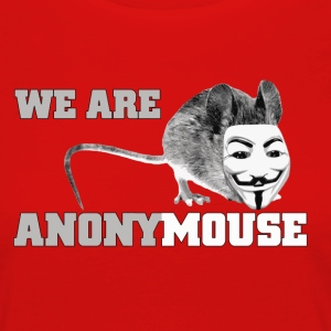 we are anonymouse - anonymous T-shirts - Dame premium T-shirt med lange ærmer