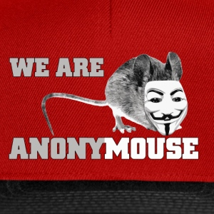 we are anonymouse - anonymous Shirts - Snapback Cap