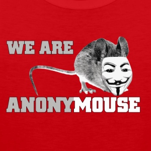 we are anonymouse - anonymous T-shirts - Premiumtanktopp herr