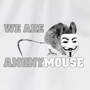 we are anonymouse - anonymous Flasker & krus - Sportstaske