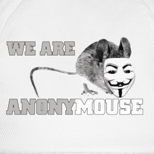 we are anonymouse - anonymous Kopper & flasker - Baseballcap