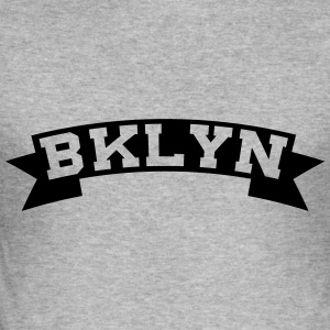 BKLYN / BROOKLYN Pullover & Hoodies - Männer Slim Fit T-Shirt