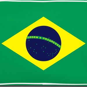 Brazil Flag Banner Colors Football Championship Magliette - Borsa retrò