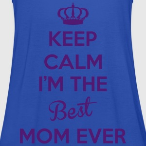KEEP CALM I'M THE BEST MOM EVER Tabliers - Débardeur Femme marque Bella