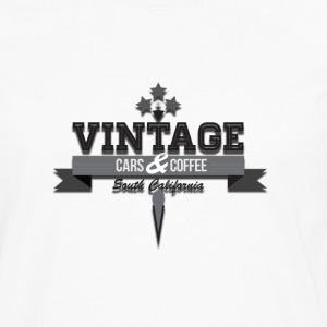 Vintage cars&coffee - T-shirt manches longues Premium Homme
