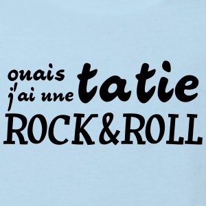 tatie rock and roll Sweats - T-shirt Bio Enfant