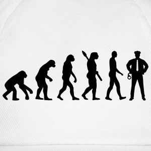 Evolution Polizei T-Shirts - Baseballkappe