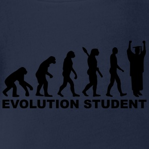 Evolution Student T-Shirts - Baby Bio-Kurzarm-Body
