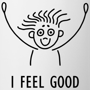 Stick figure - I feel good Shirts - Mug