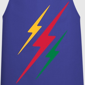 lightning thunder Tee shirts - Tablier de cuisine