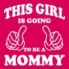 This Girl is going to be a Mommy T-Shirts - Women's Premium T-Shirt