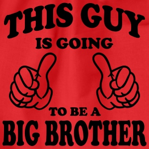 This Guy is going to be a Big Brother Shirts - Drawstring Bag