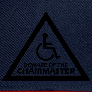 beware of the chairmaster T-Shirts - Snapback Cap