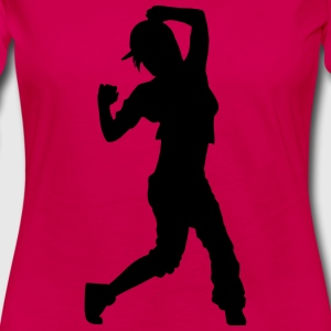 hip hop dancer T-shirts - Långärmad premium-T-shirt dam