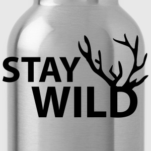 stay wild T-Shirts - Trinkflasche