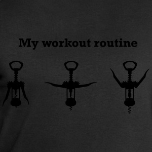 My Workout Routine T-Shirts - Men's Sweatshirt by Stanley & Stella