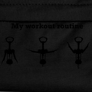 My Workout Routine T-Shirts - Kids' Backpack