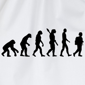 Evolution Schule T-Shirts - Turnbeutel