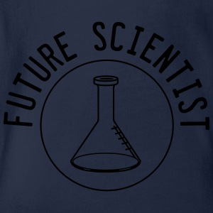 Future Scientist Shirts - Organic Short-sleeved Baby Bodysuit