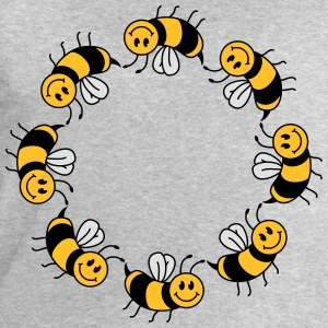 Funny bee circle pattern T-Shirts - Men's Sweatshirt by Stanley & Stella