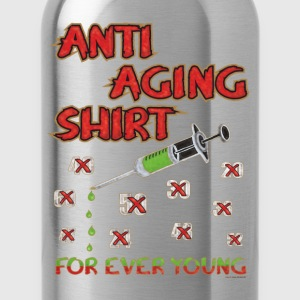 Geburtstags Shirt - FOR EVER YOUNG T-Shirts - Trinkflasche