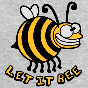 Thick crazy bee let it bee T-Shirts - Men's Sweatshirt by Stanley & Stella