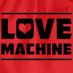 Love Machine T-Shirts - Drawstring Bag