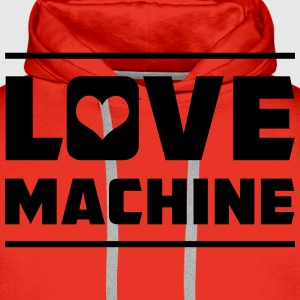 Love Machine T-Shirts - Men's Premium Hoodie