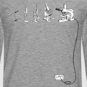 The Evolution of Microscope T-Shirts - Men's Premium Longsleeve Shirt
