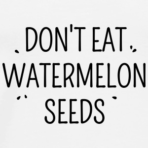 watermelon seeds Bags & Backpacks - Men's Premium T-Shirt