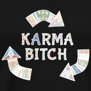 karma  Bags & Backpacks - Men's Premium T-Shirt
