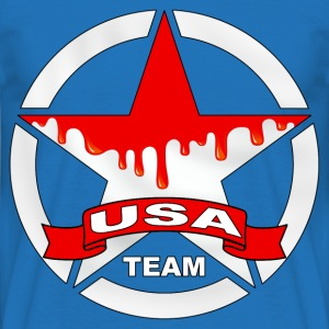 united states team Sweat-shirts - T-shirt Homme