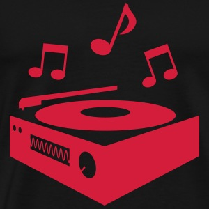 record player platine tourne-disque Sweat-shirts - T-shirt Premium Homme