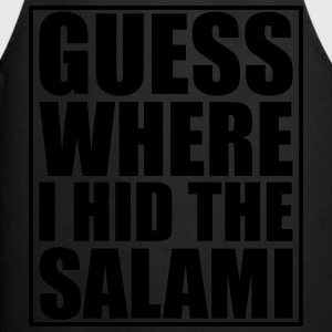 Guess where I hid the Salami T-paidat - Esiliina