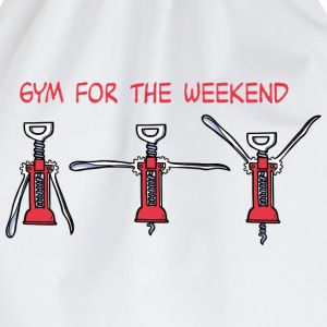 Gym for the Weekend Tee shirts - Sac de sport léger