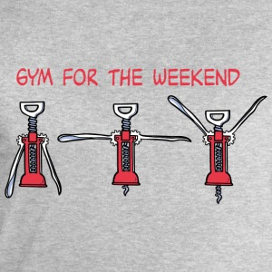 Gym for the Weekend Tee shirts - Sweat-shirt Homme Stanley & Stella